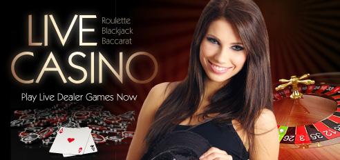 Live Casino spellen op het internet